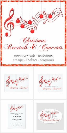 Musical Christmas Recital or Concert