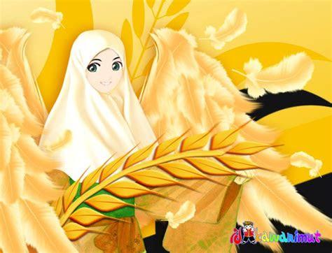 foto muslimah kartun