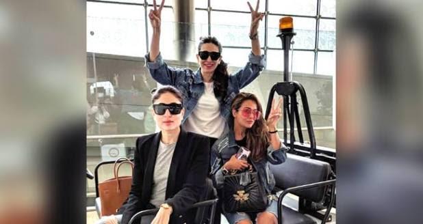 Kareena Kapoor Khan Is Having A Ball Of Time With Her Girl Gang In Dubai