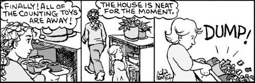 Home Spun comic strip #654