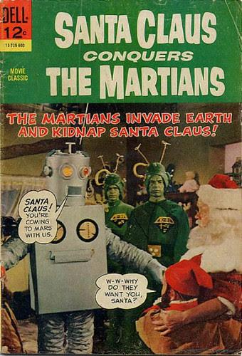 Santa Claus vs Martians