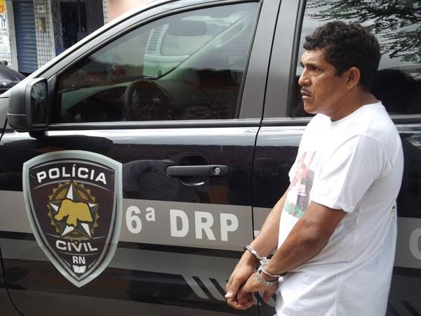 Joelito Pedro foi detido e ficará à disposição da Justiça (Foto: Rafael Barbosa/G1)