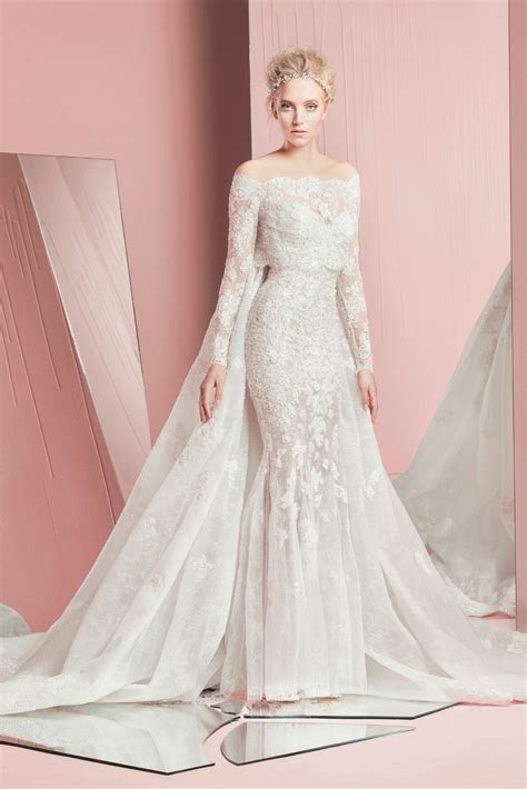 2016 Charming Two Piece Mermaid Wedding Bridal Gowns With