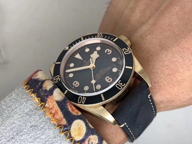 Tudor Black Bay Wrist Shot 5