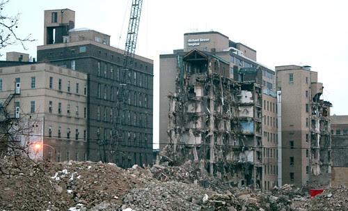 Michael Reese demolition