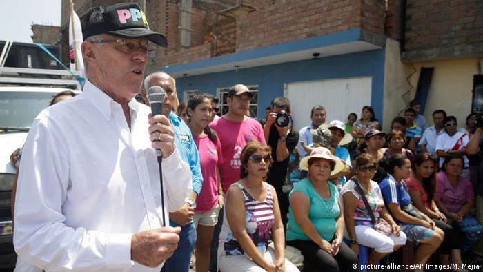 Peru Präsidentschaftskandidat Pedro Pablo Kuczynski (Bild: picture-alliance/AP Images/M. Mejia)