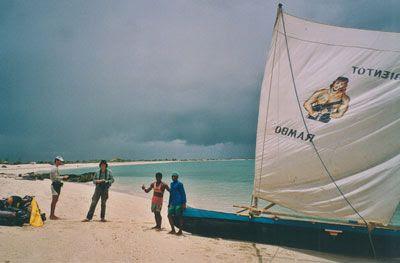 Madagascar - Martin, Petruz e i fratelli Rambo sulla spiaggia di Anakao