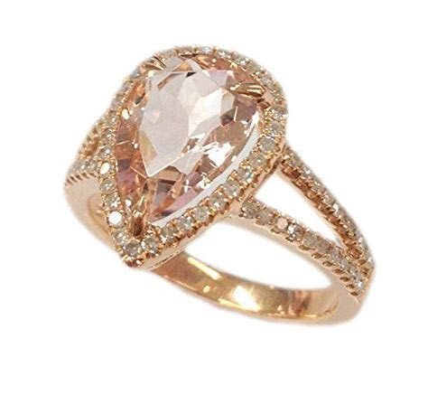 1000  ideas about Morganite Ring on Pinterest   Rose gold