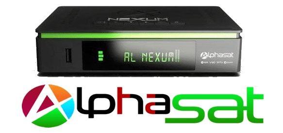 ALPHASAT NEXUM RECOVERY VIA USB E BUSCA DE CANAIS CONFIRAM - 21/11/2018