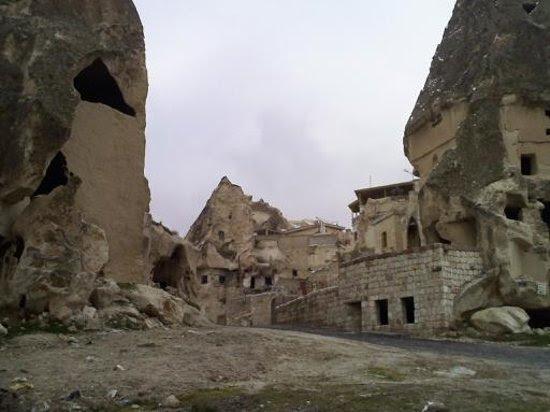 Cappadocia, Turkey: cave houses