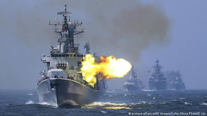 China Russland gemeinsame Manöver