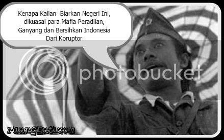Andai saja beliau masih ada, pasti beliau tidak rela bila kota Surabaya dikotori oleh para mafia-mafia keadilan