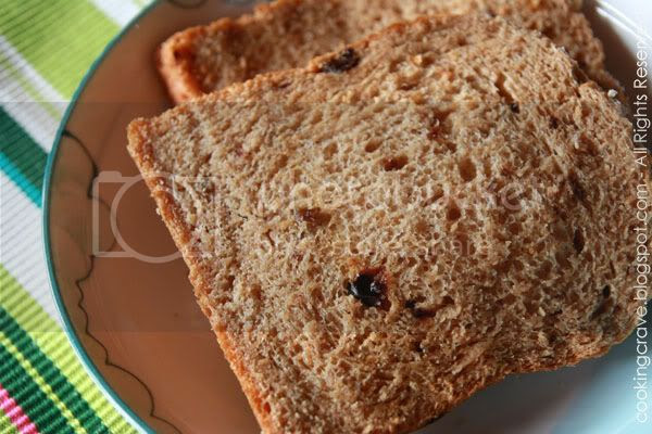 Wholegrain Raisins Toast2