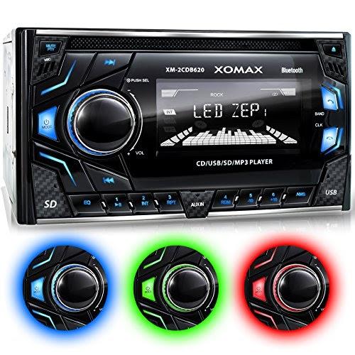 test xomax xm 2cdb620 autoradio mit cd player bluetooth freisprecheinrichtung. Black Bedroom Furniture Sets. Home Design Ideas