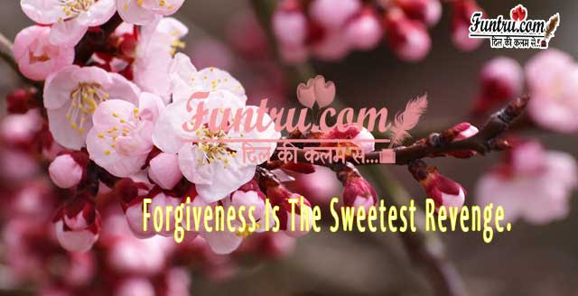 Sweetest Revenge Forgiveness Quotes Hindi Quotes