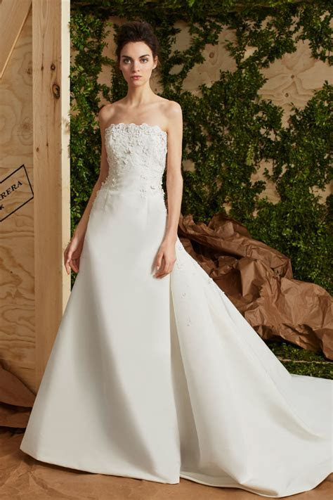 Carolina Herrera Spring 2017 Wedding Dress   Elegant Wedding