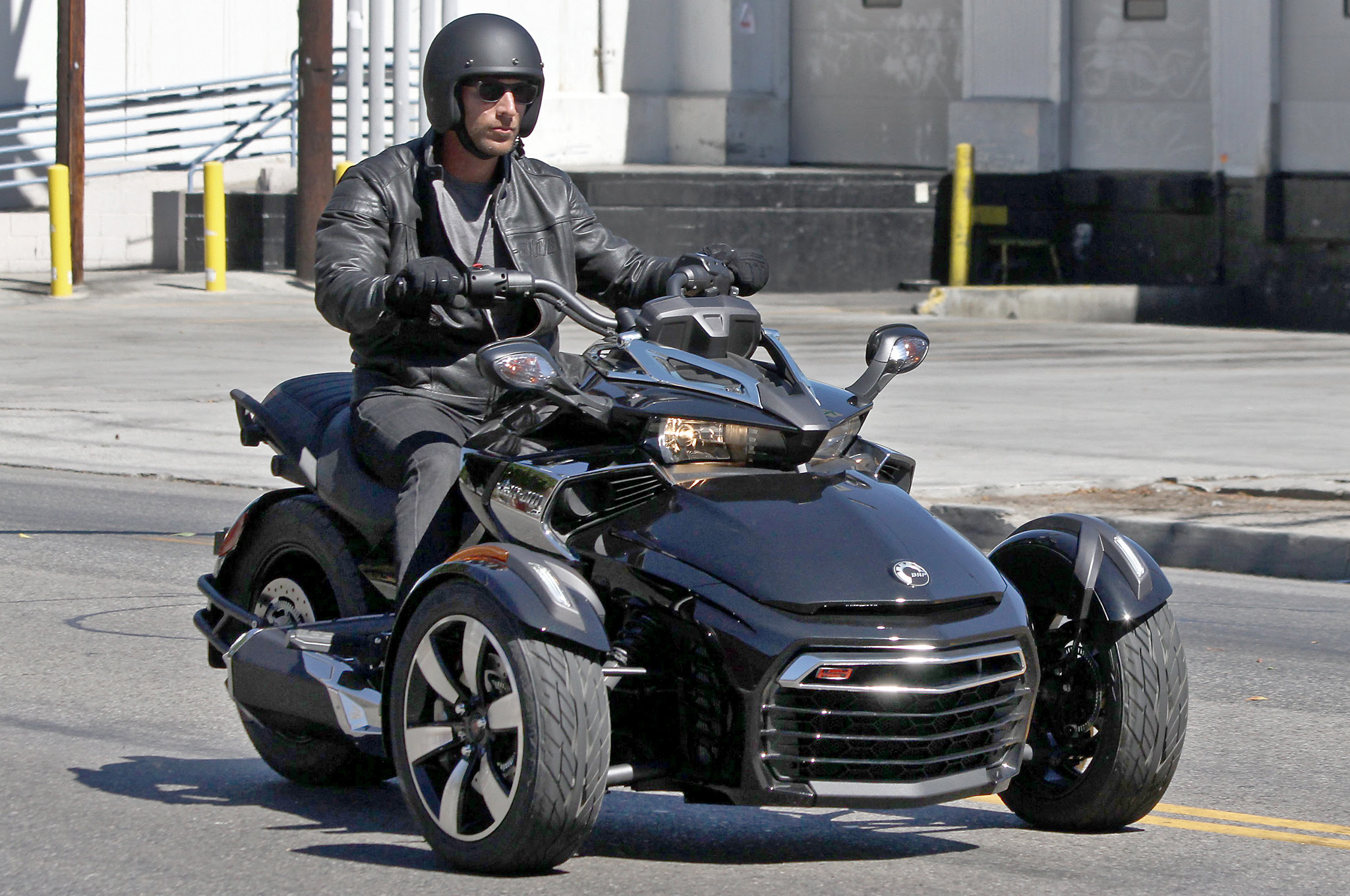 All New Can Am Spyder F3 Efi Spotted With No Camouflage Autoevolution