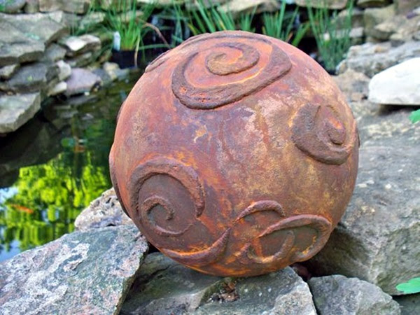 Utterly Beautiful Rusted Metal Art Works (19)