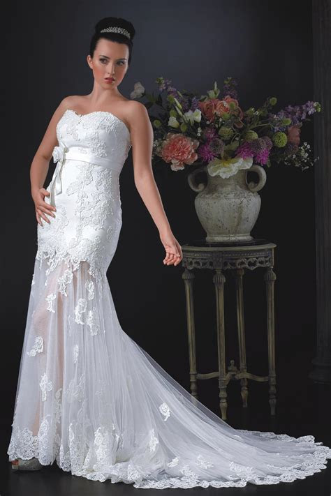 W032 Wedding Dress from Phoenix Gowns   hitched.co.uk