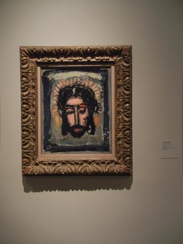 DSCN7921 _ Head of Christ, c. 1932-1938, Georges Rouault ( 1871-1958), LACMA