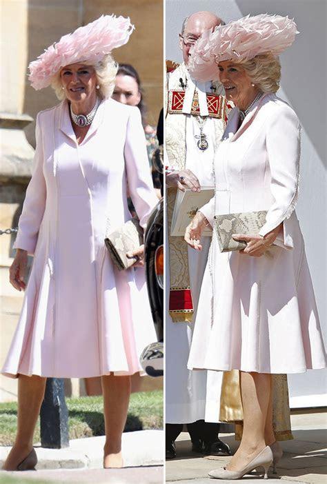 Camilla Duchess of Cornwall Royal Wedding: Royal looks