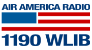 former WLIB logo, as an Air America Radio affi...