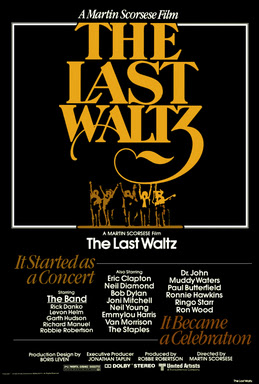 Poster for the 2002 re-release of the Last Waltz
