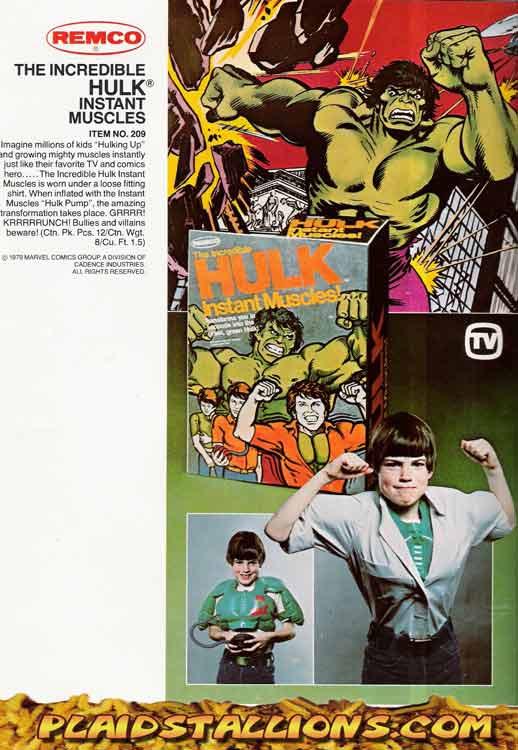 Remco Hulk Muscles
