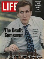 Bobby Fischer on the cover of Life Magazine in 1971