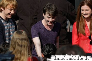 Updated: Daniel at Grand Opening The Wizarding World of Harry Potter