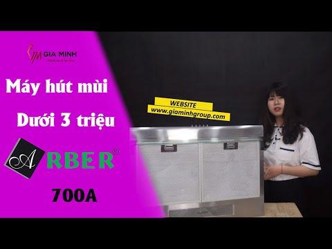Máy hút mùi cổ điển Arber AB-700A HÚT KHỎE giá chưa đến 3 triệu đồng bếp từ