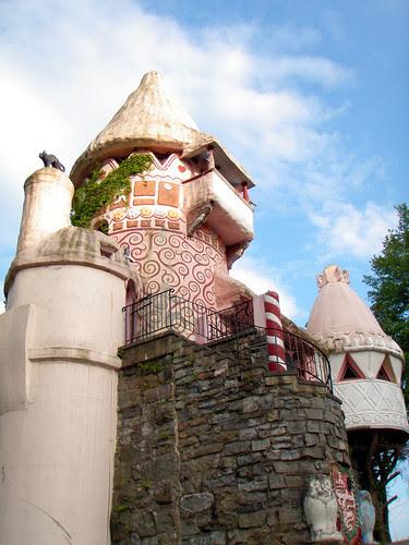 Gingerbread Castle! 8