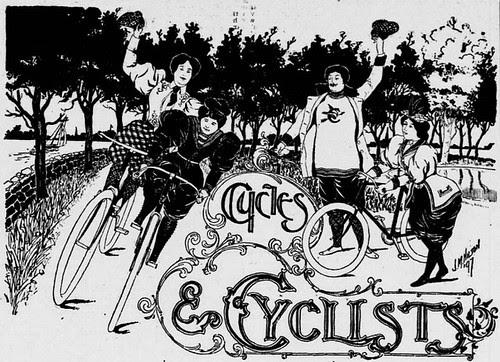 Cyclists in Washington 1897