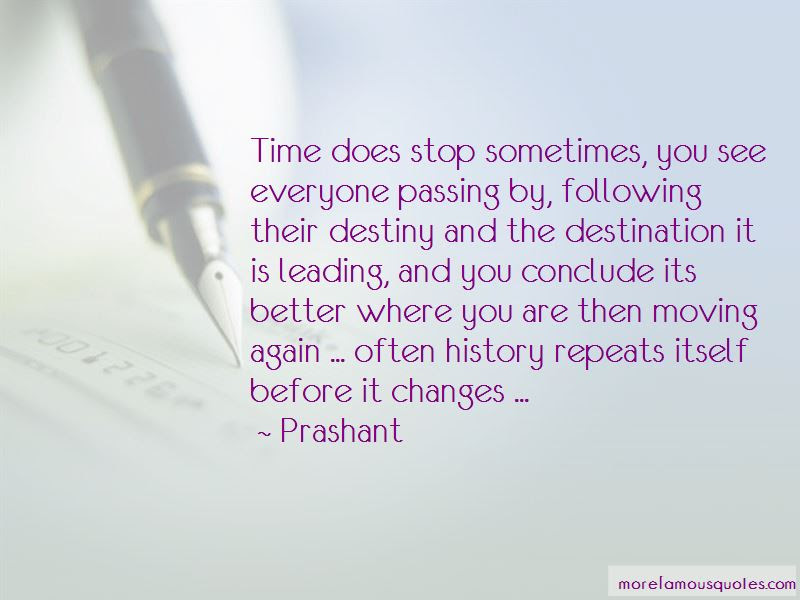 Time Changes Everyone Quotes Top 13 Quotes About Time Changes