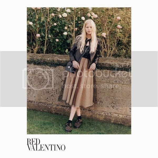 Red Valentino ss15 campaign