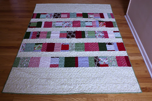 Patchwork Christmas Quilt