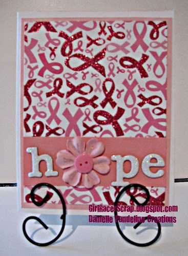 Hope - Breast Cancer Card