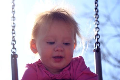 Mama & P at the park Jan 2012 11
