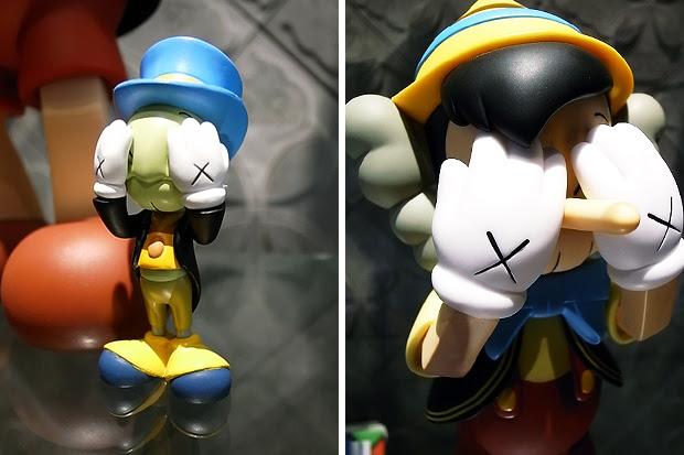 originalfake medicom toy pinocchio jiminy cricket OriginalFake x Medicom Toy Pinocchio & Jiminy Cricket Set