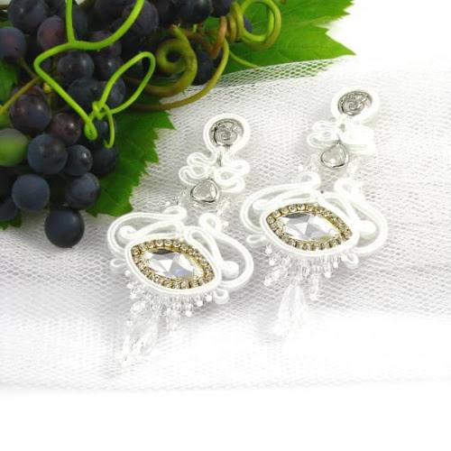 Biżuteria ślubna soutache