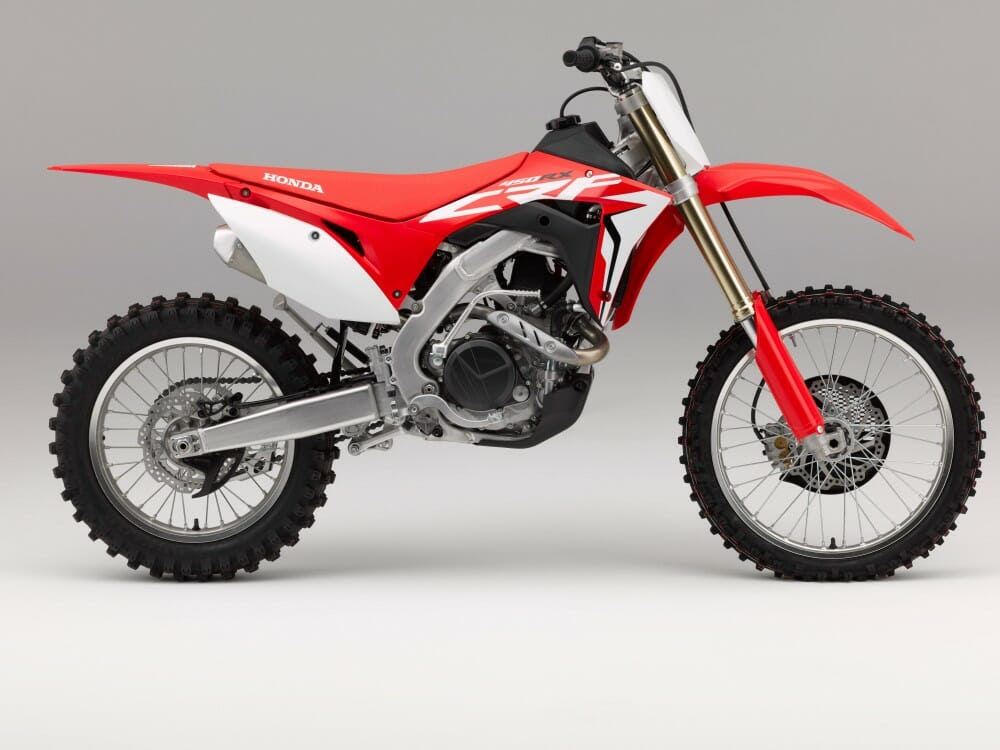 CRF450RX rotate
