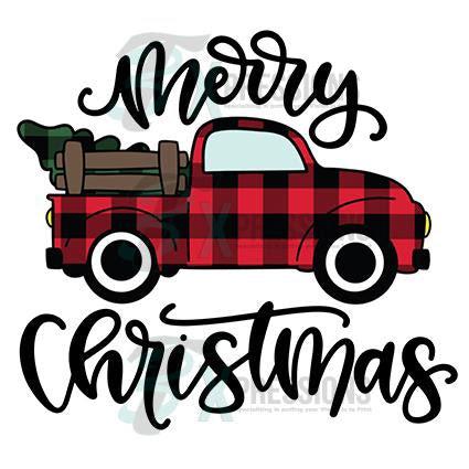 Buffalo Plaid Merry Christmas