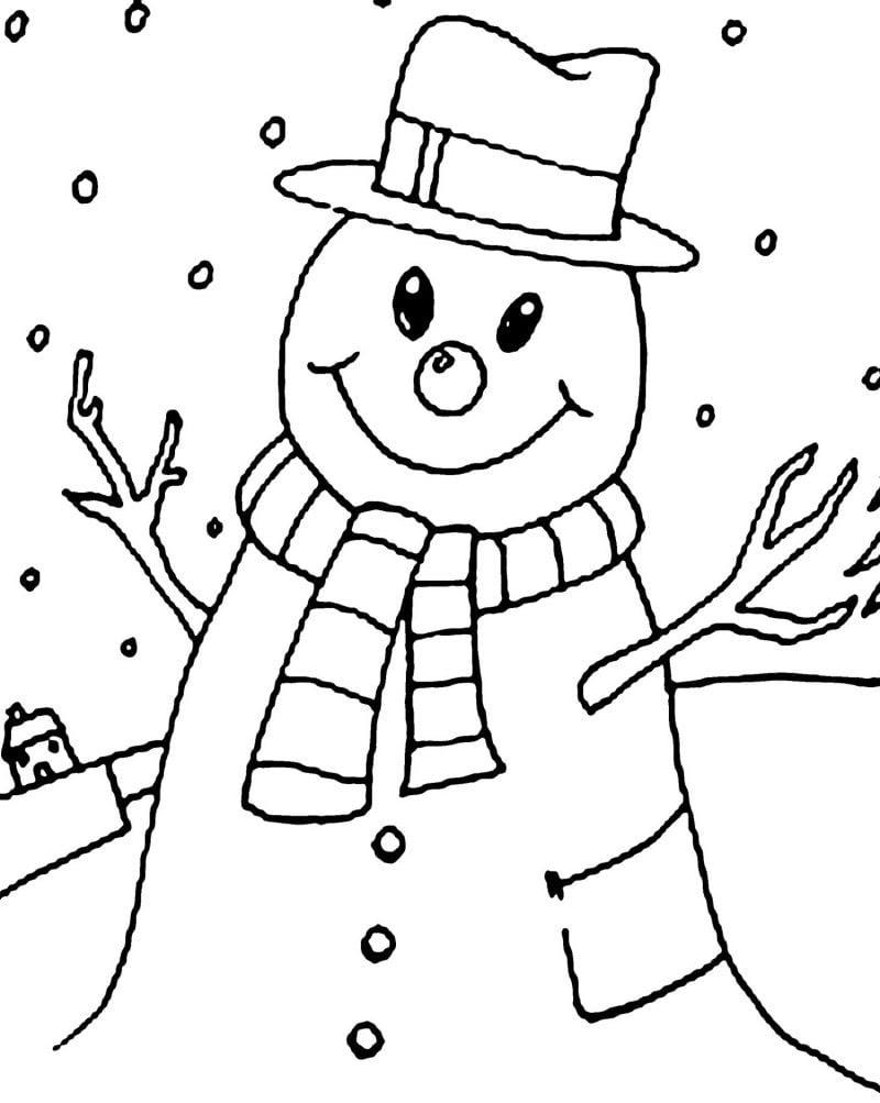 Malvorlagen für Weihnachten Weihanchtsmann malen