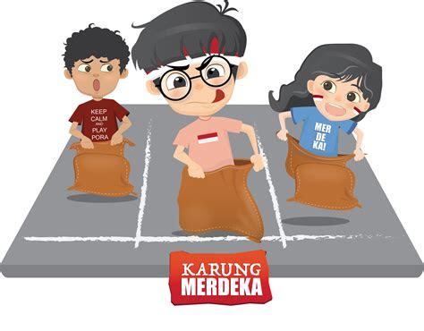 kemerdekaan indonesia clipart image