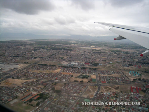 south africa from the plane