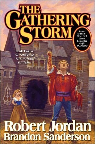 Cover of the Gathering Storm by Robert Jordan and Brandon Sanderson authors
