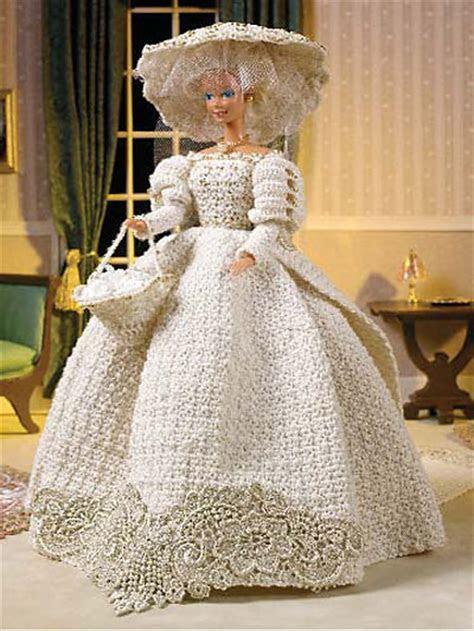 Wedding Knit and Crochet ? Bride and Groom Dolls ? free