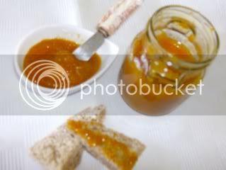 Compota de laranja e cenoura