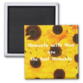 Mom Quote Magnet zazzle_magnet