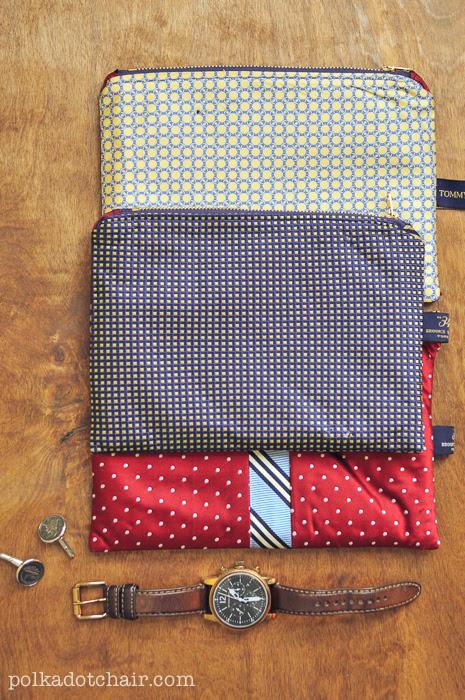 Repurposed Necktie Idea